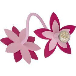 Kinkiet Nowodvorski Flowers 6893 kwiatki lampa ścienna 1x35W GU10 różowy