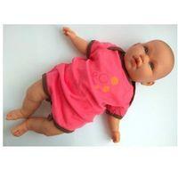 Body różowe z paskiem kółtek rozmiar 68 marki Bekids