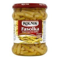 Fasolka szparagowa żółta 470 g  marki Rolnik