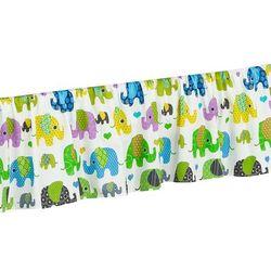 falbanka do łóżeczka słoniaki zielone marki Mamo-tato