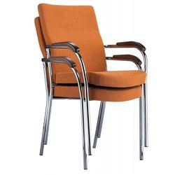 Krzesło konferencyjne loco ii chrome marki Nowy styl