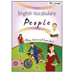 English Vocabulary People. Gra Językowa (gra planszowa)