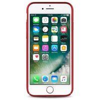 PURO Magnetic Cover - Etui iPhone 7 kompatybilne z uchwytem magnetycznym (czerwony)
