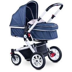 Caretero COMPASS wózek dziecięcy wielofunkcyjny 2 w 1 navy KURIER GRATIS - sprawdź w wybranym sklepie