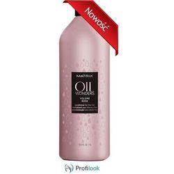 MATRIX OIL Wonders Volume Rose odżywka do włosów cienkich i delikatnych 1000 ml