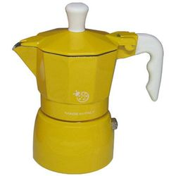 Top moka Kawiarka coccinella żółta - 1 filiżanka