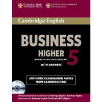 Cambridge English Business 5 Higher Self-Study Pack (Students Book with answers with Audio Cd)