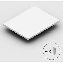 Dodatkowa półka, wraz ze wspornikami, jasnoszara, szer. x gł. 1000x800 mm. prost marki Unbekannt
