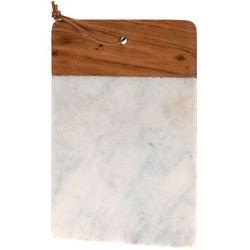 Prostokątna deska do krojenia, kamienna, 30 x 19 cm, B01N3C5TUQ
