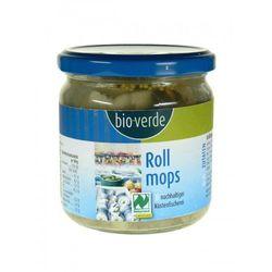 Rollmopsy (śledzie eko w zalewie octowej z ogórkami) 350g, bio verde, marki Bioplanet