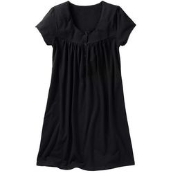 Bonprix Koszula nocna ciążowa i do karmienia  czarny, kategoria: koszule nocne ciążowe