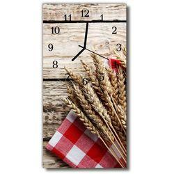 Zegar Szklany Pionowy Kuchnia Zboże ziarno beżowy, kolor beżowy