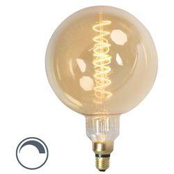 E27 lampa ściemnialna LED MEGA globus 4W 200lm 2100 K.