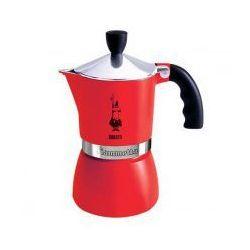 Kawiarka BIALETTI FIAMMETTA Czerwona na 3 filiżanki espresso, kup u jednego z partnerów