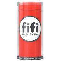 Masturbator z jednorazowymi wkładkami - Fifi Masturbator With 5 Sleeves Czerwony