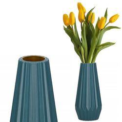 Wazon 21cm nietłukący na kwiaty do salonu, kuchni morski nowoczesny (5907719419169)
