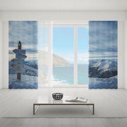 Zasłona okienna na wymiar komplet - TATRA MOUNTAINS