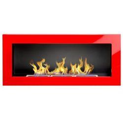 Biokominek Globmetal 900x400 czerwony połysk + GRATIS