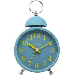 Nextime - zegar stojący single bell - turkusowy