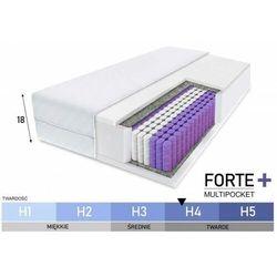 Materac kieszeniowy - forte+ multipocket - 18 cm tw. h4 - rozmiary marki E-lozka