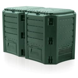 Prosperplast Kompostownik segmentowy module compogreen 800 l zielony - transport gratis!, kategoria: kompostowniki
