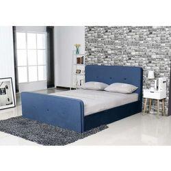 Aksamitne łóżko carmen 2 marki Hliving