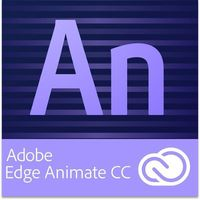 Adobe Edge Animate CC EDU Multi European Languages Win/Mac - Subskrypcja (12 m-ce)