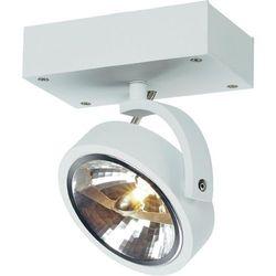 Lampa punktowa SLV 147251;G53, (DxSxW) 15 x 19 x 9 cm, biały (matowy), Kalu 1