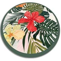 Modny uniwersalny dywan winylowy Modny uniwersalny dywan winylowy rajskie kwiaty