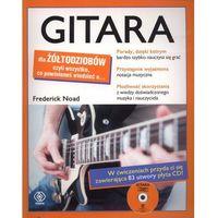 Gitara dla żółtodziobów z płytą CD., oprawa miękka