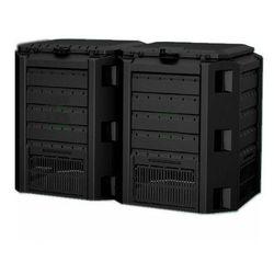 Prosperplast Kompostownik segmentowy module compogreen 800 l czarny - transport gratis! (5905197960524)