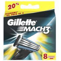 8szt mach3 wkłady do maszynki do golenia marki Gillette