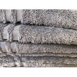 Ręcznik hotelowy LUX 70x140cm Szary 500gr/m2 100% bawełna egipska