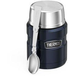 Thermos king 0,47l oryginalny profesjonalny termos na jedzenie z łyżką / granatowy - granatowy (5010576832702)