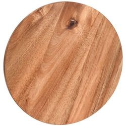Deska kuchenna do krojenia - okrągła, drewno akacjowe