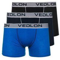 3 pack multikolor bokserki męskie denley v11 marki Vedlon