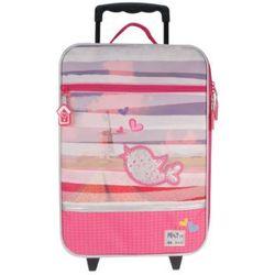 CANDIDE Torba na kółkach - Pret Denimized, pink - produkt z kategorii- walizeczki