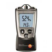 Termohigrometr kieszonkowy z futerałem, miernik temperatury i wilgotności,  610 marki Testo