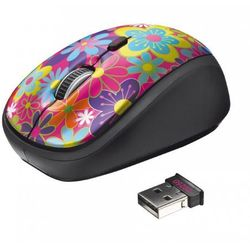 Trust Yvi Wireless Mouse Flower Power 20250
