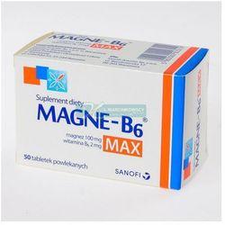 Magne-B6 Max x 50 tabl. (Witaminyi minerały)