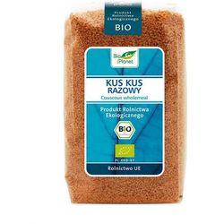 Kuskus razowy bio 400 g - bio planet od producenta Bio planet - seria niebieska (ryże, kasze, ziarna)