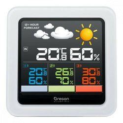 scientific stacja pogody rar502sx z 3 czujn. kolor marki Oregon