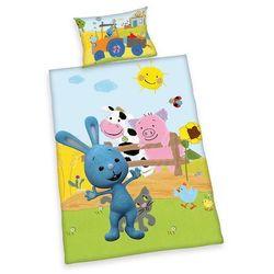 Dziecięca pościel do łóżeczka Króliczek KIKA, 135 x 100 cm, 40 x 60 - sprawdź w wybranym sklepie