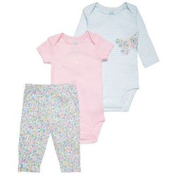 Carter's BUTTERFLY SET Body pink