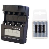 Ładowarka  nc-3000 + 4x akumulatory panasonic eneloop pro r03/aaa 950 mah od producenta Everactive