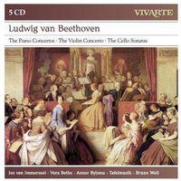 Beethoven: The Piano Concertos / The Violin Concerto / The Cello Sonatas