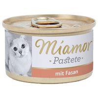 MIAMOR Katzenzarte Fleischpastete - pasztet mięsny smak: bażant 12x85g (42022039)