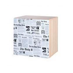 szafka wisząca top news z nadrukiem marki Klupś
