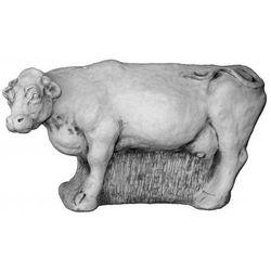 Figura ogrodowa betonowa krowa 43cm