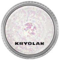 Kryolan POLYESTER GLIMMER COARSE (PEARL GREEN) Gruby sypki brokat - PEARL GREEN (2901)